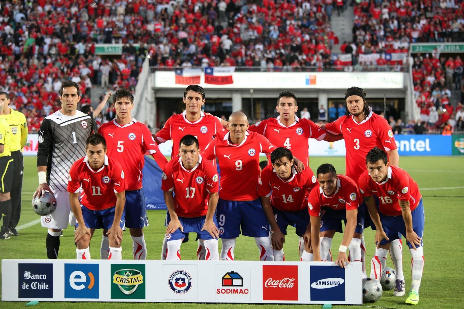 Formación de Chile ante Paraguay, Clasificatorias Brasil 2014, 15 de noviembre de 2011