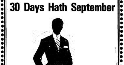 Grandma Slump: 30 Days Hath September