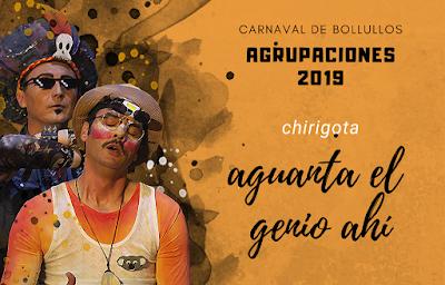 """Chirigota """"Aguanta el genio ahí"""" 2019"""