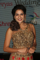 Jenny in brown transparent sleeveless anarkali dress at Shamanthakamani pre release function ~  Exclusive 043.JPG