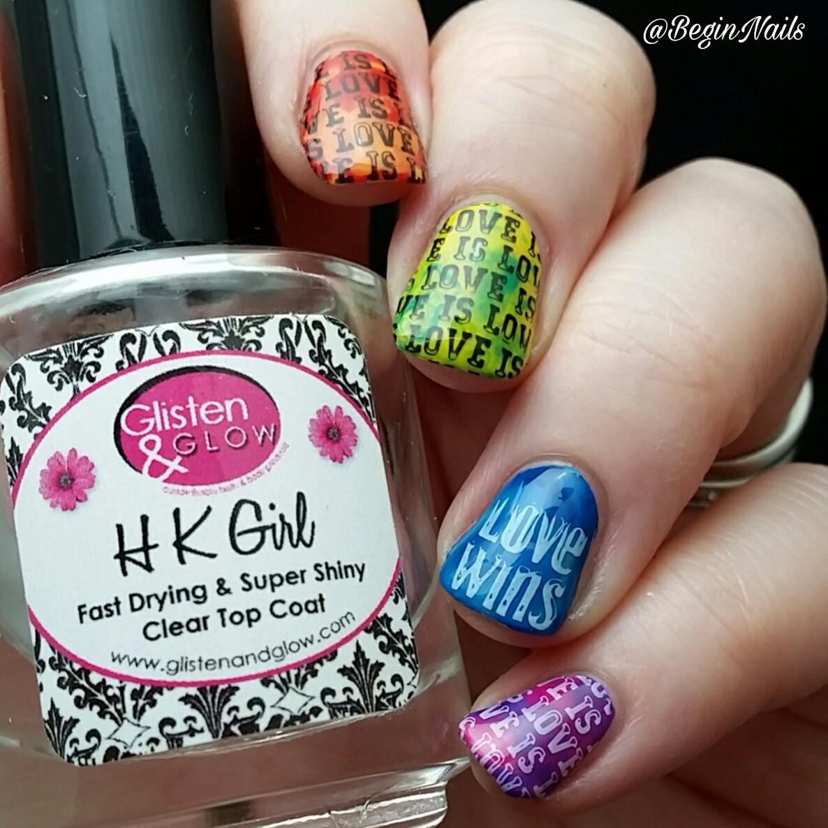 Let\'s Begin Nails: It Girl Nail Art IG118 Stamping Plate Review