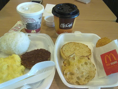 Breakfast at McDonalds