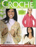 Revista Crochet Manga Larga
