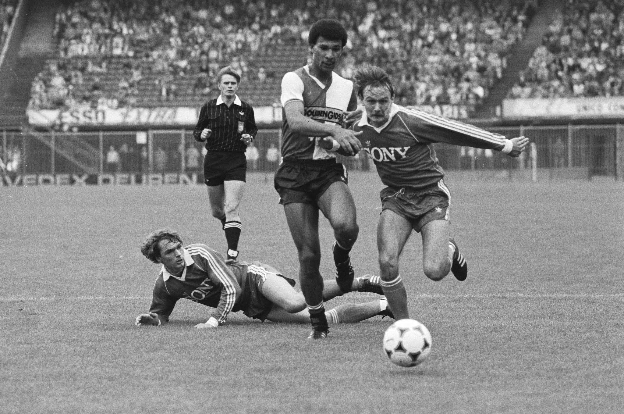 Richard van der Meer, Ruud Gullit en Henrik Eigenbrod