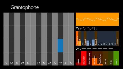 Great Grantophone App in Windows 8
