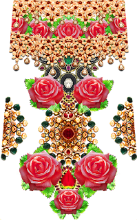 Jwellery-flower-art-design-for-textile-print