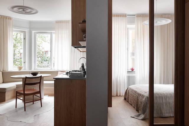Apartment Tour: Custom Design and Craftsmanship in Stockholm