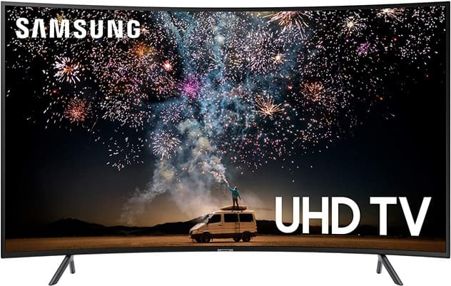Samsung UN65RU7300FXZA: Smart TV ELED with curved design, with 4K screen of 65 ``, Alexa, Wi-Fi and Tizen 5.5