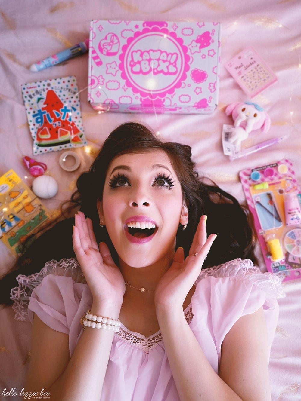 summer festival kawaii box review, kawaii fashion