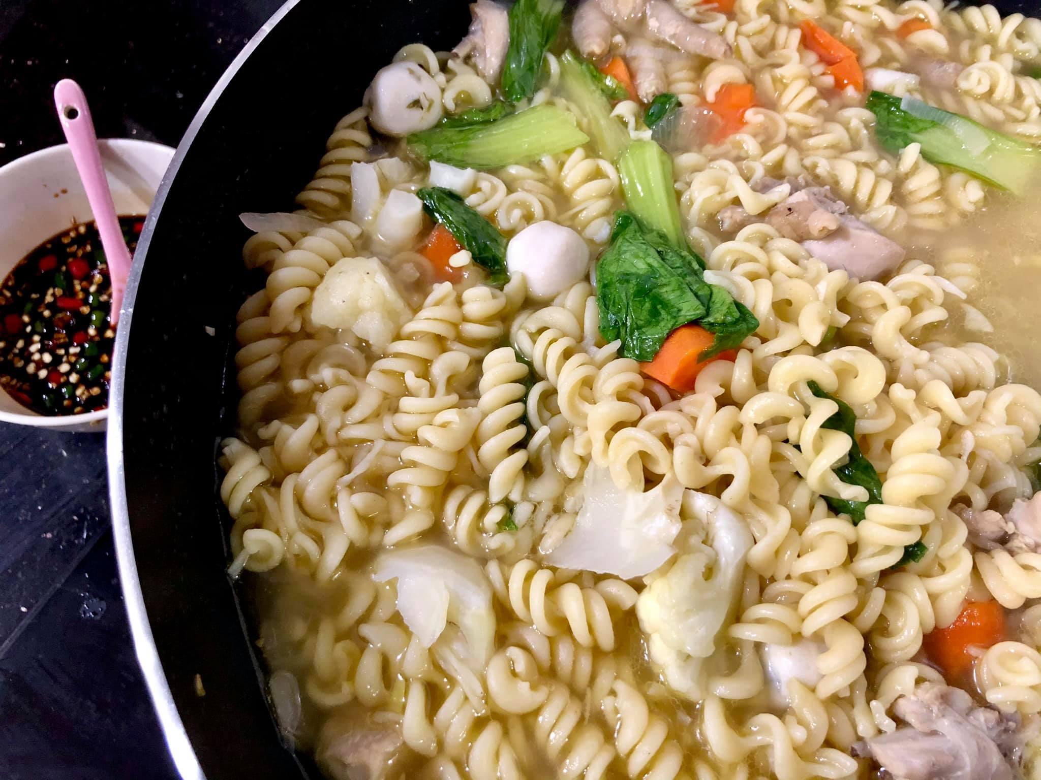 Resepi Macaroni Sup (Fusili) Yang Sedap Dan Mudah Nak Masaknya