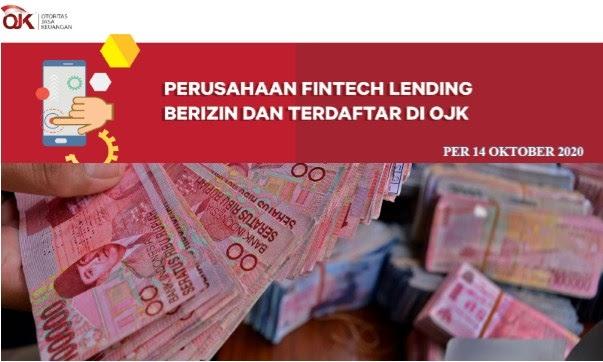 155 Daftar Pinjaman Online Resmi Ojk Terbaru Oktober 2020