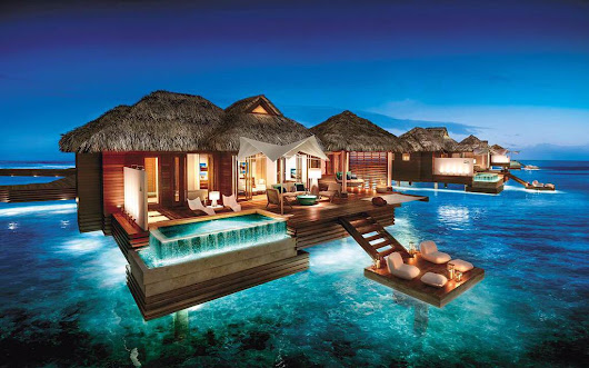 Sandals Overwater Bungalow Suites NOW Available For Booking!