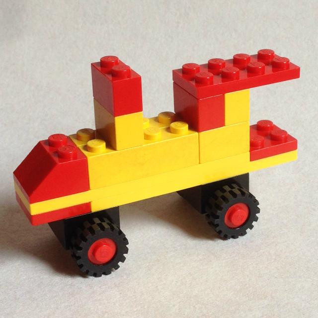Lego 1606 - és itt egy gőzmozdony is