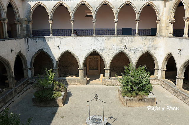 Claustro da Lavagem del convento de Tomar
