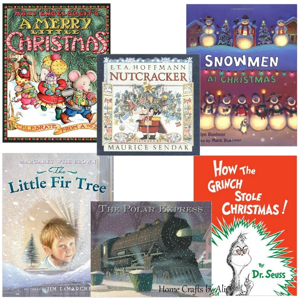 Christmas Books Children Kids Holiday