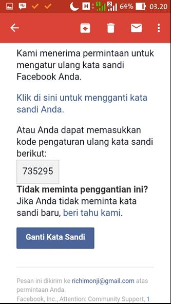 Copy kode fb