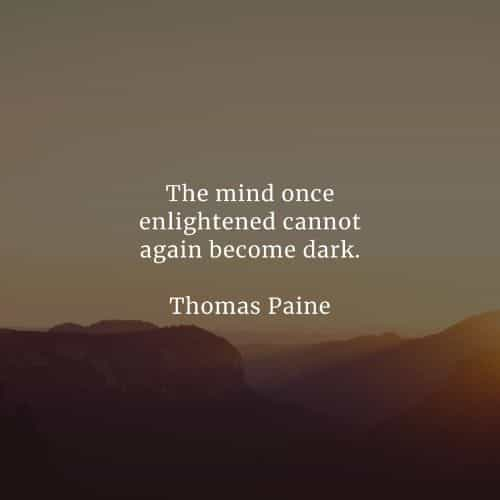 Famous quotes and sayings by Thomas Paine