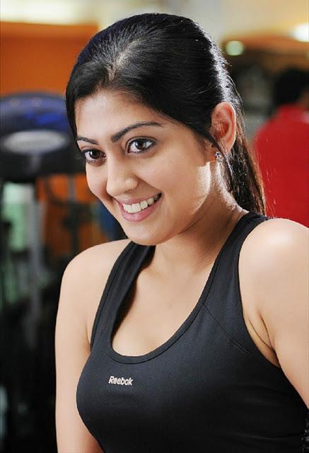 Actress Pranitha Subhash Hot Photos In Gym Navel Queens
