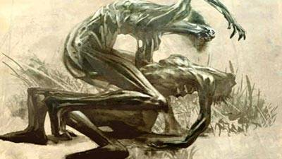 Jikininki - Mitos Iblis dalam naskah kuno