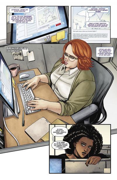 Faith : Dreamside de J.Houser, M.SAuvage et MJ.Kim aux éditions Bliss Comics planche 1
