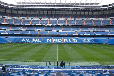 Santiago Bernabéu Stadium, Madrid