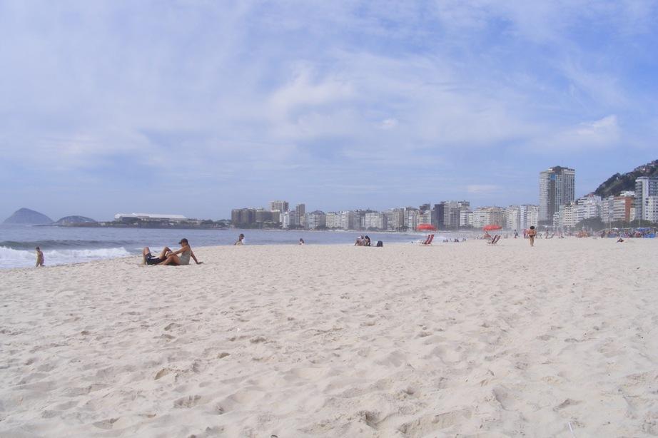 Plaja Copacabana, Rio de Janeiro
