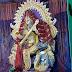 मांगोबंदर : पेंटिंग के साथ मां सरस्वती की प्रतिमा बनी आकर्षण का केंद्र