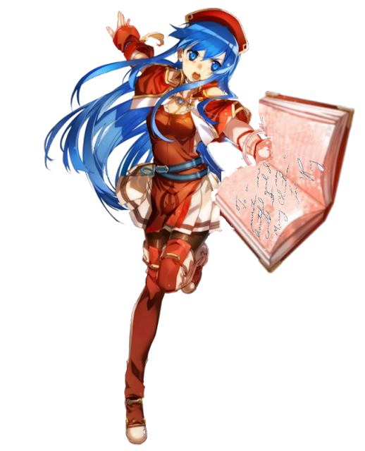 Roy Lilina yearbook book message Fire Emblem Heroes to a sweeter more beautiful girl Merry Christmas