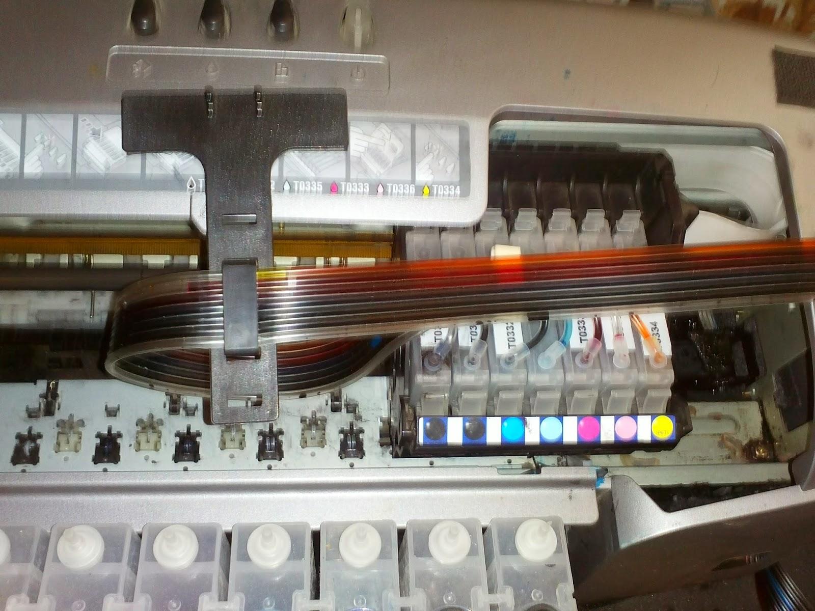 Печатная головка Epson на каретке