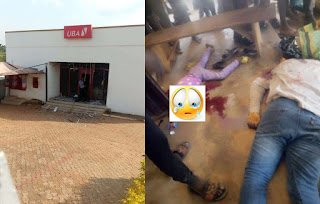 REVEALED: How CCTV showed bank staff looting vault before robbery attack