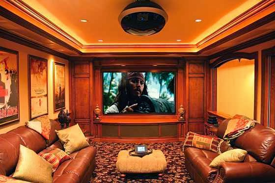 Entertainment Room Decoration picture