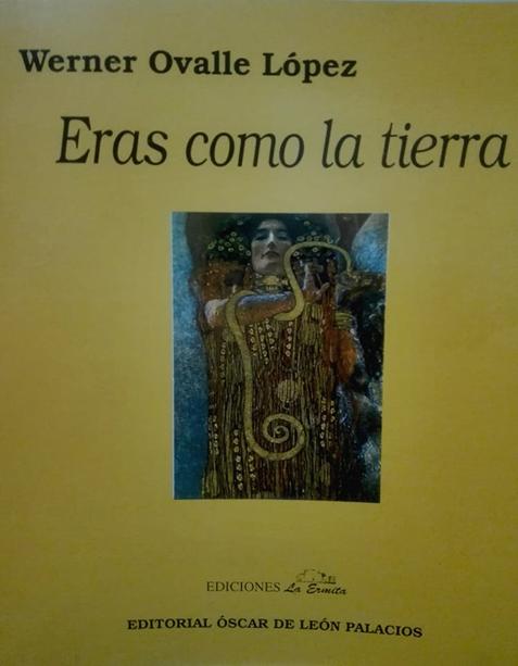 Portada del libro Eras como la tierra de Werner Ovalle López