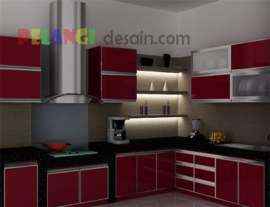 Kitchenset Pelangi Desain Interior Kitchen Set Modern Minimalis