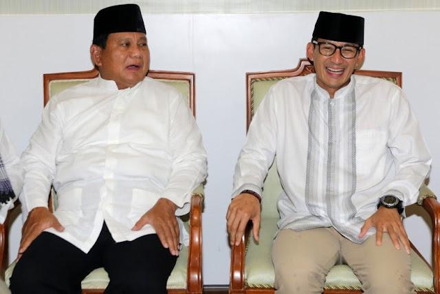 Tak Datang ke MK, Ini Alasan Prabowo-Sandi