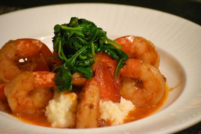 shrimp and grits fyve