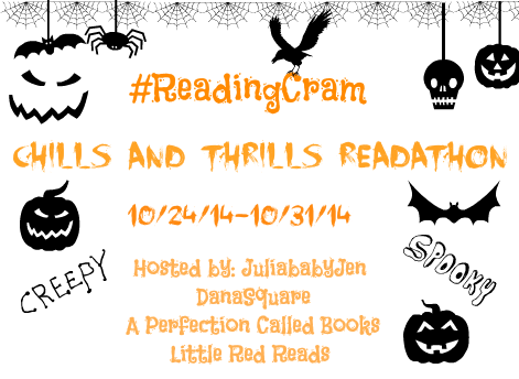 Chills and Thrills #ReadingCram : Scary Make-Up Challenge
