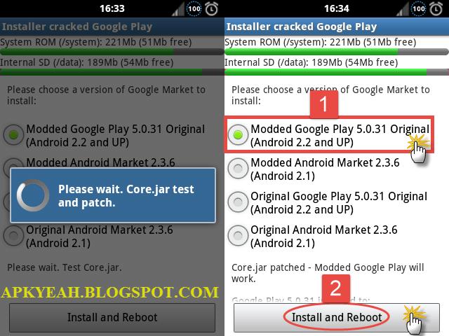 Google Play Installer v5 8 11 - Google Play Crack - Mod Apk Hack