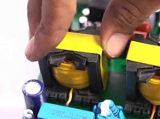 trafo PQ35Class-D  Fullbridge D2K -  High Power Output 2500W RMS.