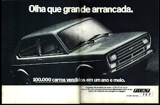 propaganda Fiat 147 - 1978; Fiat decada de 70; reclame de carros anos 70. brazilian advertising cars in the 70. os anos 70. história da década de 70; Brazil in the 70s; propaganda carros anos 70; Oswaldo Hernandez;