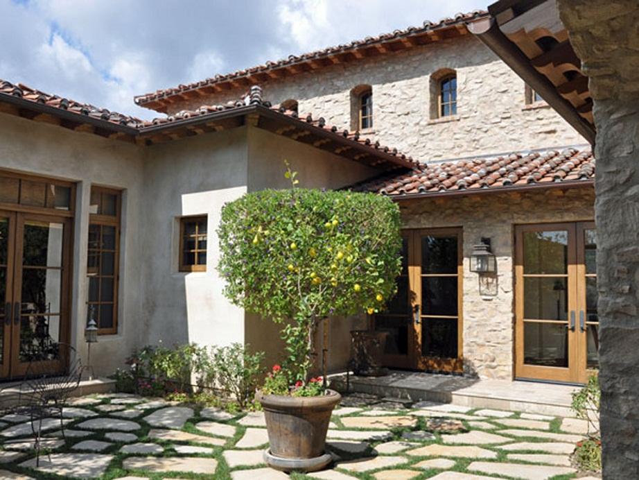 C mo decorar la casa casas rusticas de piedra for Las puertas de piedra amazon