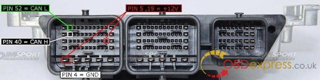Solved!  KTM Bench identified Bosch MEDC17 ECU failure 7