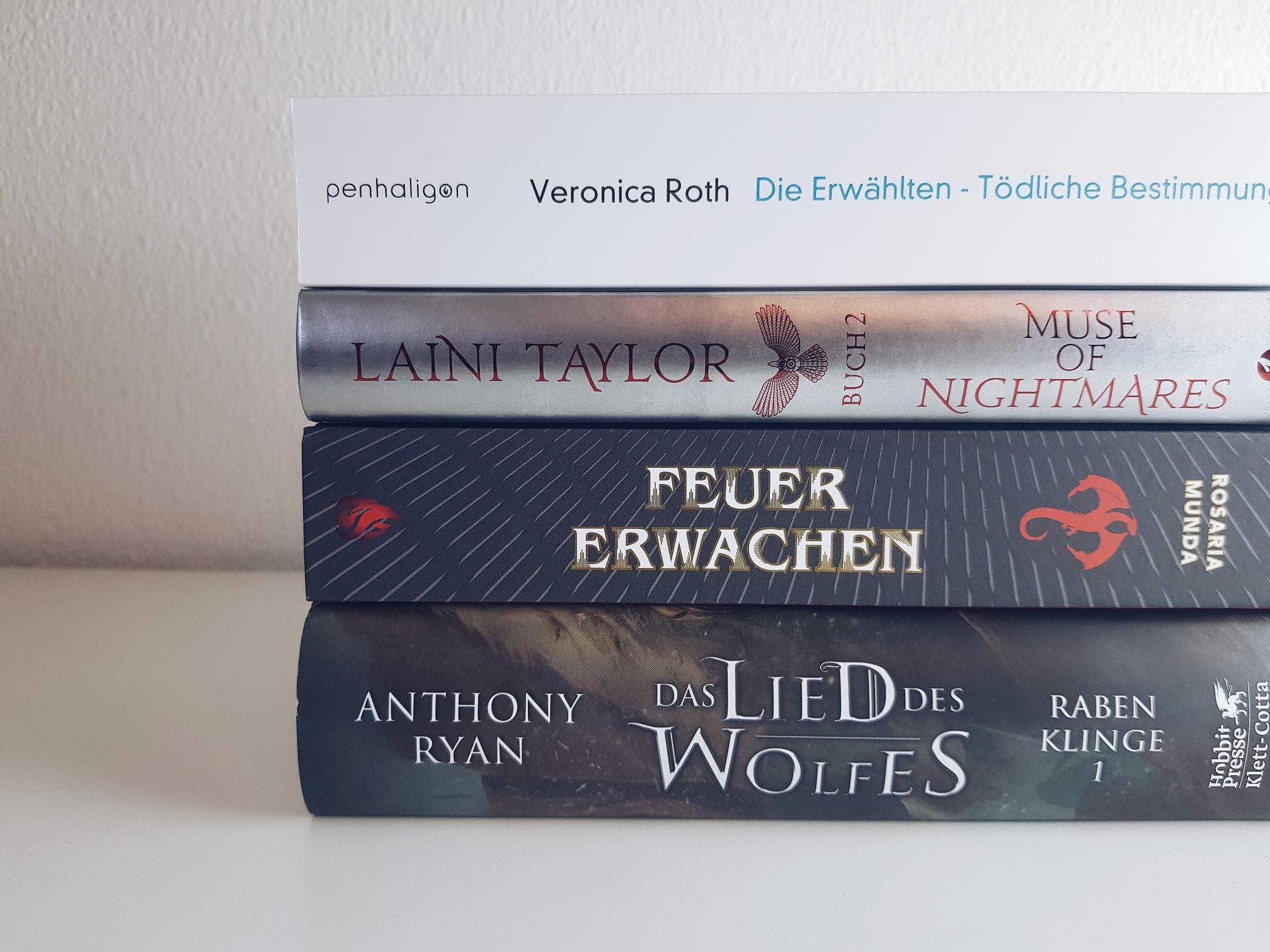 Bücherblog. Neuzugänge Bücher. Jugendbuch. Fantasy. Juli 2020.