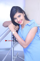 Telugu Actress Mounika UHD Stills in Blue Short Dress at Tik Tak Telugu Movie Audio Launch .COM 0245.JPG