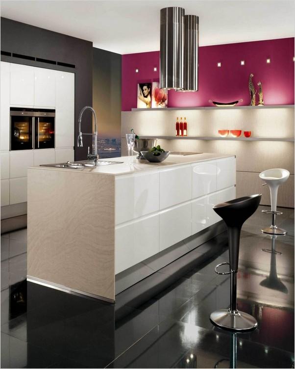 Modern Kitchen Wall Color Ideas Home Interior Exterior Decor Design Ideas