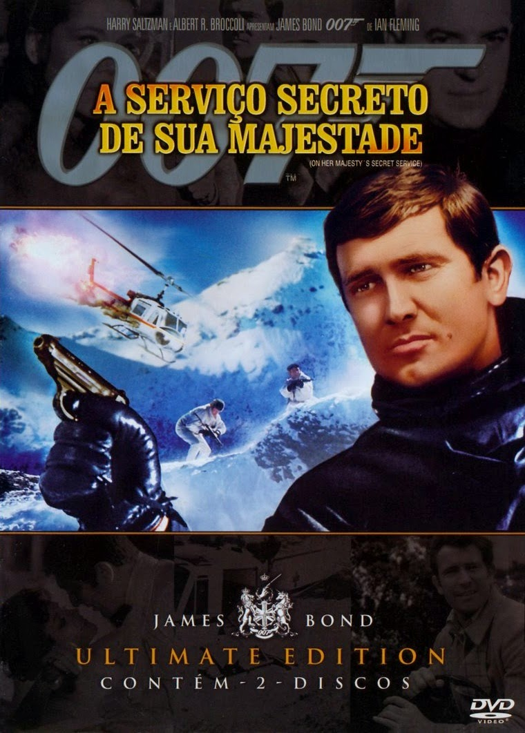 Poster do filme 007 A serviço secreto de sua majestade