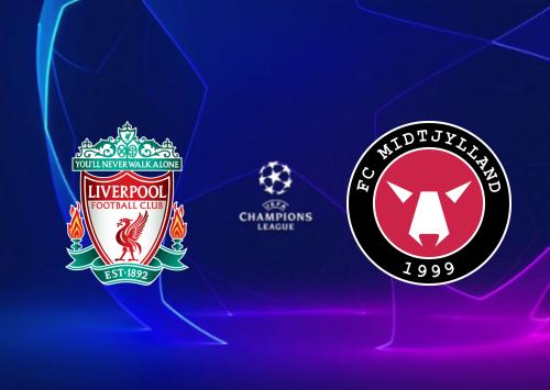 Liverpool vs Midtjylland -Highlights 27 October 2020