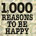 Quotes from books: 1000 Reasons to be happy, by David Baird