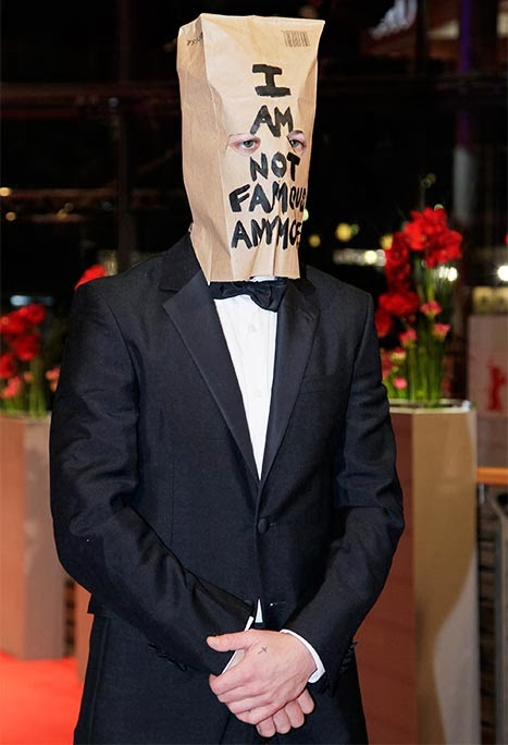 'I'm Not Famous Anymore': Shia LaBeouf Wears Paper Bag