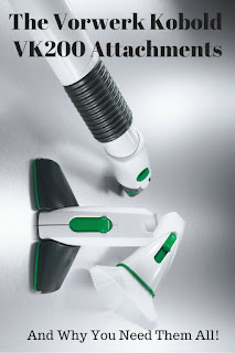 The Vorwerk Kobold VK200 Cleaning System has so many clever accessories, this review focuses on just the attachments!