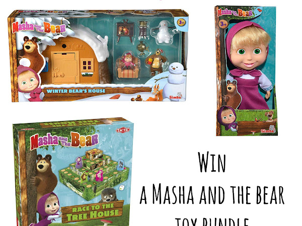 Masha and The Bear Toy Bundle | Giveaway